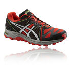 ASICS Gel-Fuji Trabuco 2 Mens Red Black Cushioned Running Shoes Trainers