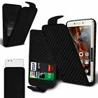 For HTC One X9 - Clamp Style PU Leather Flip Case Cover