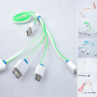 4 in 1 USB Multi Charger Charging Cable Cord For iPhone Samsung HTC LG MOTO