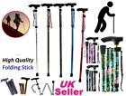 WALKING STICK-FOLDING & ADJUSTABLE WITH HAND STRAP.LIGHT IN WEIGHT *Fldstck