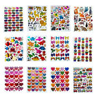 Hearts Stars Animals Flowers Sticker Scrapbook DIY Decorate Greeting Card Diary