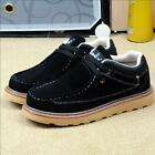 New fashion British men's leather matte Martin boots suede lace-up casual shoes