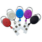 Bulk 100 Pack - Premium Carabiner Clip Retractable Badge Ree