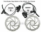 Tektro HD-T290 Vela Hydraulic Disc Bike Brake Black Front/ Rear/ Pair Set &160mm