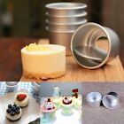 """2"""" Removable Bottom Mini Cake Mold Jelly Pudding Cheese Cake DIY Baking Tool #us"""