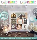 "16"" X 16""  PERSONALISED PHOTO GIFT COLLAGE CUSHION CHRISTMAS WEDDING ANNIVERSARY"