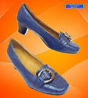 DAMEN SCHUHE PUMPS B5978-1 Blue Gr: 36-40