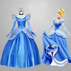 New Ladies' Fancy Dress Adult Women Cinderella Princess Dress Cosplay Costume