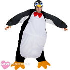 ADULT PENGUIN COSTUME MENS LADIES UNISEX FESTIVE CHRISTMAS FANCY DRESS XMAS