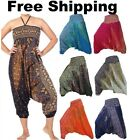 NEW Harem Pants Festival Baggy Hippie Boho Alibaba Trousers Aladdin Gypsy Hippy