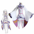 Re:Life in a different world from zero Emilia Cosplay Dress Costume Fairy Dress
