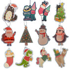 Christmas Novelty Car Air Freshener Hanging Fragrance Scent Home Office Xmas