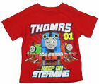 Thomas & Friends Toddler Boy's Short Sleeve Red Graphic T-Shirt 2T-4T