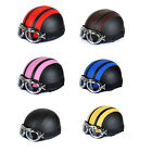 ABS Durable Cool Helmets Capacete Motorcycle Anti Goggles Len Scooter JQ