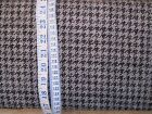 Grey Houndstooth fabric 100% cotton 'Menswear' from Penny Rose Fabrics