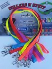 Dog lead double clip hound pet greyhound pig dog 25mm 6 colours