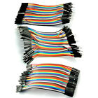 40pcs Male Female Dupont Wire Cables Jumper 10cm 2.54MM 1P For Arduino Pro Use