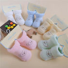 Newborn Baby Socks/Baby Kids Boots Soft Warm Winter Cute Bear Socks Fashion EW