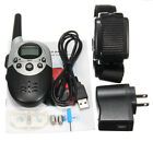 Rechargeable E-Collar Electric Shock 1000M Remote Control Dog Training Anti-Bar