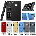 Heavy-Duty Dual Layer Armor Stand Case Cover For Huawei P9 Lite,VNS-L21 VNS-L53