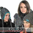 NWT adidas Performance CLIMAWARM™ Women Beanie Hat Gloves Knit Fleece Cable Peru