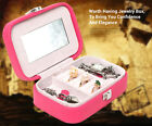 Fashion Gifts Portable Jewelry Display Organizer Earrings Necklace Packing Box