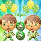 BEN 10 Alien Force Balloons Hero Foil Decor S-A Shower Birthday Party Supplies