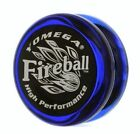 Yomega Fireball Yo Yo Blue Red or Clear Black + 3 Free Neon Strings YELL/ORG/GRN