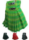 New Men's Scottish 5 Yard Acrylic Highland Wear Kilt Casual Kilts