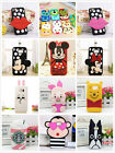 3D Cute Cartoon Soft Silicone Cover Case For Samsung S6/6 S7/S7 Edge Note4/5 A1