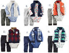 Carters Baby Boy 3pc Outfit Set Winter Clothes Newborn 3 6 9 12 18 24 Month New