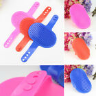 Puppy Bath Brush Rubber PET Hair Wash Glove Comb Cat Dog Grooming Massage Mitt