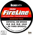 BEADSMITH FIRELINE BEADING THREAD -  CHOOSE SIZE/COLOR - 4LB, 6LB, 8LB, 10LB