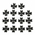 """14/28pcs 1.1x1.2x0.5"""" White& Black Golf Shoes Spikes for Golfer's Replacement"""