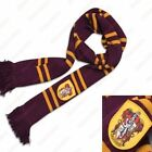 New Harry Potter Scarf Cap Large Gryffindor Hufflepuff Slytherin Ravenclaw Gift