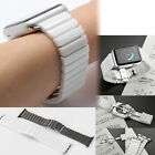 New Quality Shiny 38 42 mm Ceramic Band Bracelet Strap W/Adapter For Apple Watch