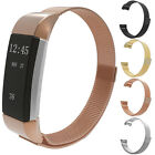 Milanese Magnetic Stainless Steel Loop Chic Wrist Band Strap For Fitbit Charge 2