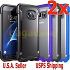 2PCs Hybrid Rubber Shockproof Protective Cover Case For Samsung Galaxy S7 Edge