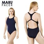 """Maru Pacer Navy Girls Womens Swimsuit Swimming Costume - 24"""" / 26"""" - CLEARANCE"""