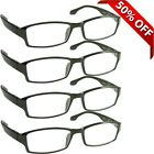 NEW Reading Glasses  Best Readers 4 Pack for Men and Women  180 Day Guarantee