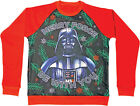 Star Wars Darth Vader Adult Sizes Christmas Xmas Jumper Merry Force Be With You