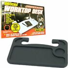 Drivers Worktop Desk Steering Wheel Workstation Food Drink Laptop Tray