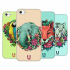 HEAD CASE DESIGNS FLORA AND FAUNA SOFT GEL CASE FOR APPLE iPHONE 5C
