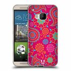 HEAD CASE DESIGNS PSYCHEDELIC PAISLEY SOFT GEL CASE FOR HTC ONE M9