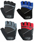 Cycling Gloves Half  Finger Gloves Gel Padded  Fingerless Racing  Gloves