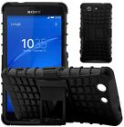 Shock Proof Heavy Duty Tough Armour Stand Case Cover For Sony Xperia Z3 Compact