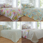 Dreams 'N' Drapes Palonia Patchwork Reversible Quilted Bedspread, 195 x 229 Cm