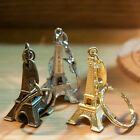 2PCS Creative Eiffel Tower Keychain Key Ring Decoration Key Holder Car Key Chain