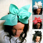 1pc 10 inch large grosgrain ribbon bow