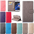 For Samsung Huawei Dandelion Pattern Flip Leather Stand Wallet Card Case Cover